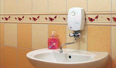 vodonagrevatel protochnogo tipa v interere foto Устройство для автоматического контроля проточного газового водонагревателя