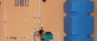 vodosnabzhenie v chastnom dome s nakopitelnym bakom Как подключить насосную станцию?